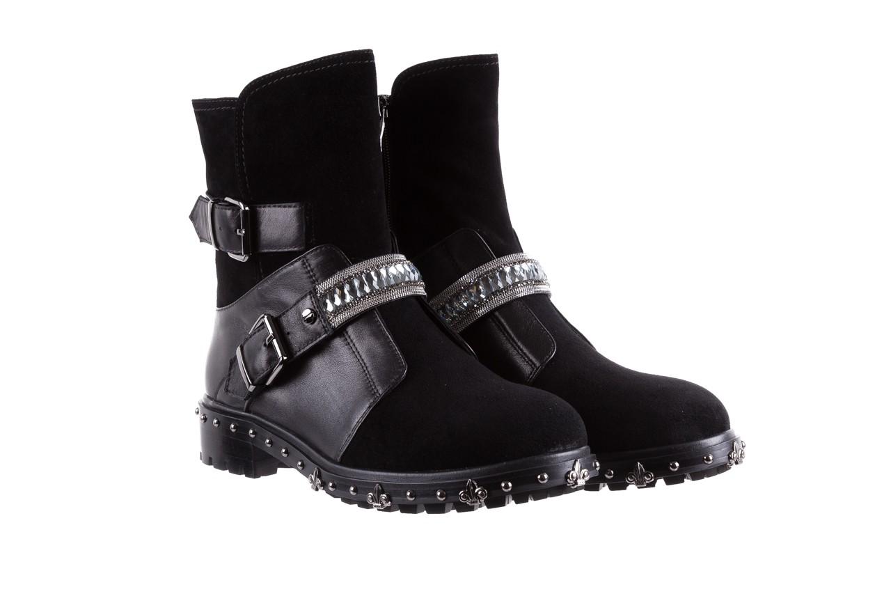 Trzewiki bayla-144 9301 czarne, skóra naturalna - trzewiki - buty damskie - kobieta 11