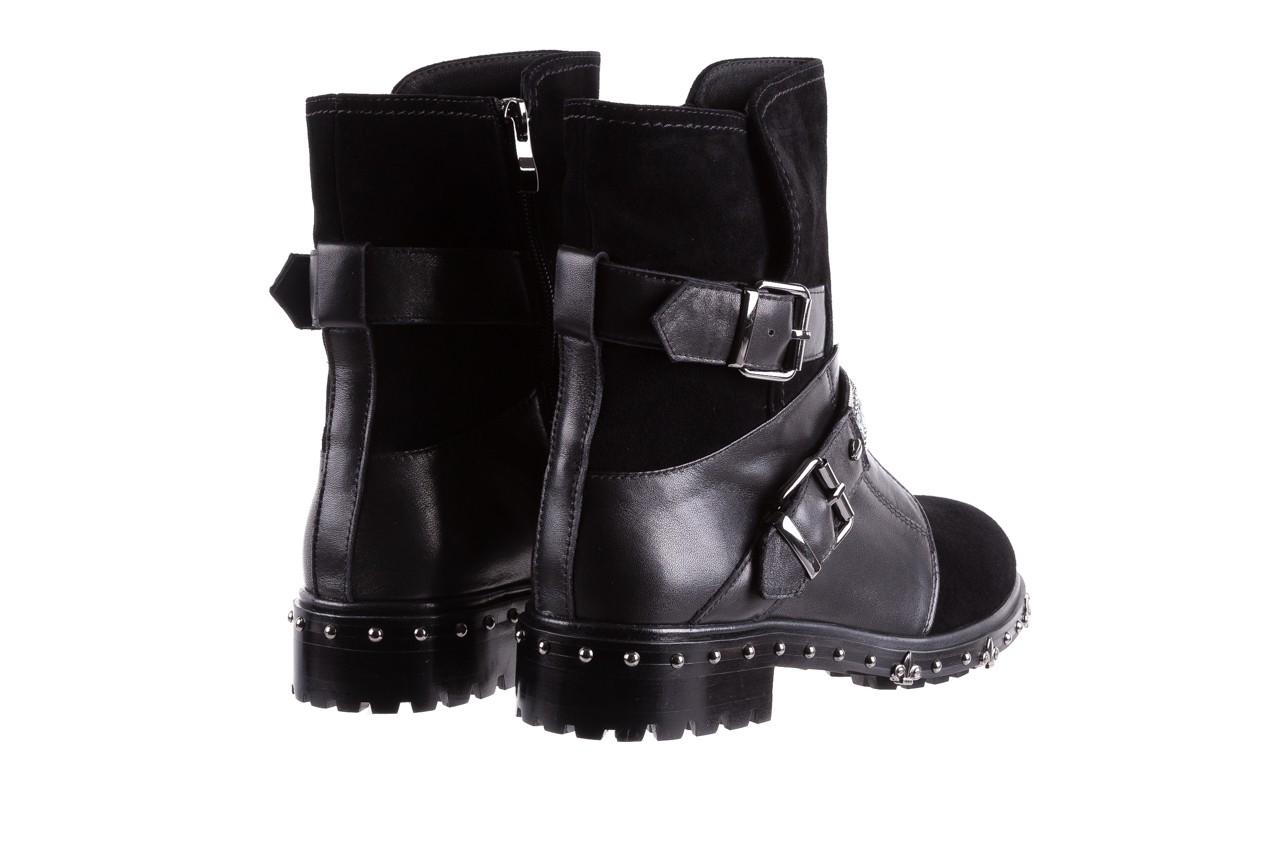 Trzewiki bayla-144 9301 czarne, skóra naturalna - trzewiki - buty damskie - kobieta 14
