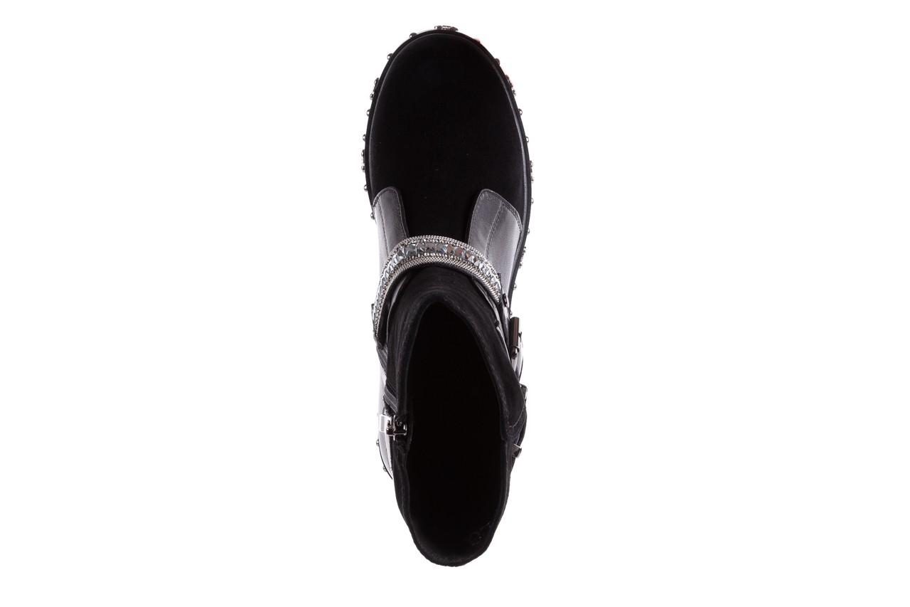 Trzewiki bayla-144 9301 czarne, skóra naturalna - trzewiki - buty damskie - kobieta 19