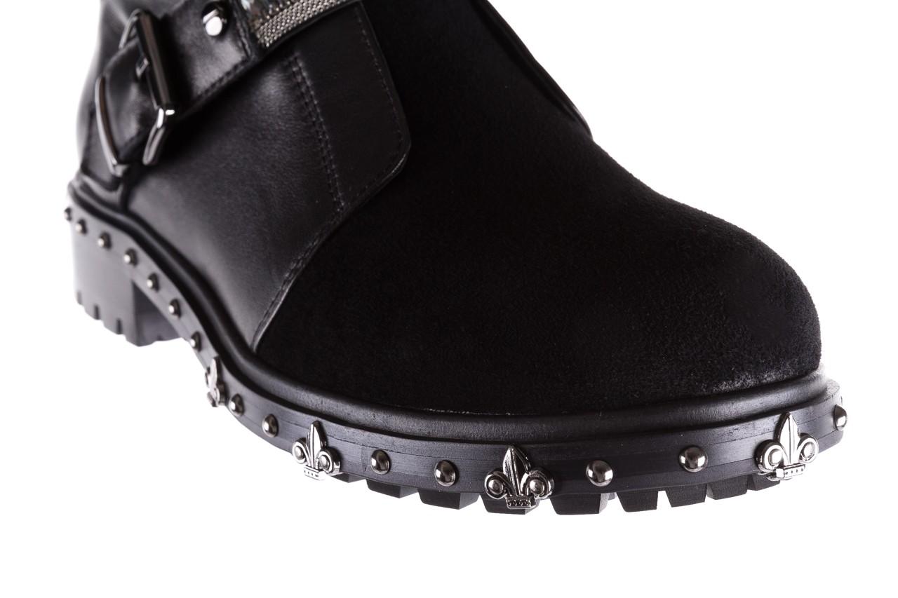 Trzewiki bayla-144 9301 czarne, skóra naturalna - trzewiki - buty damskie - kobieta 15