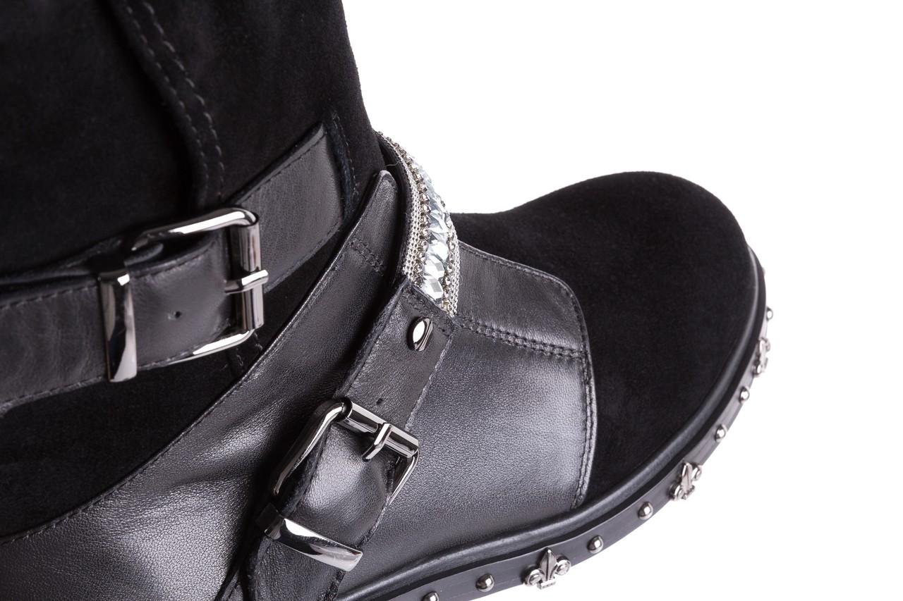 Trzewiki bayla-144 9301 czarne, skóra naturalna - trzewiki - buty damskie - kobieta 17