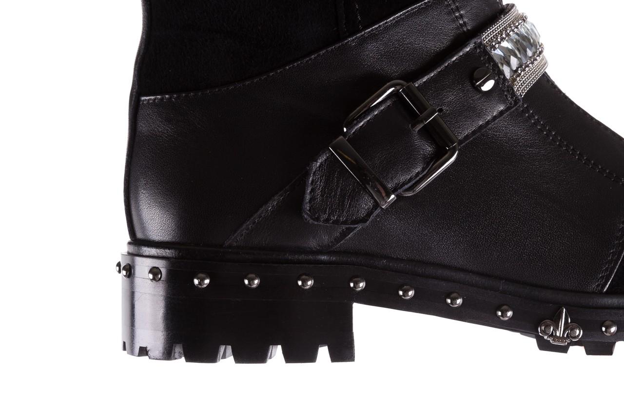 Trzewiki bayla-144 9301 czarne, skóra naturalna - trzewiki - buty damskie - kobieta 16