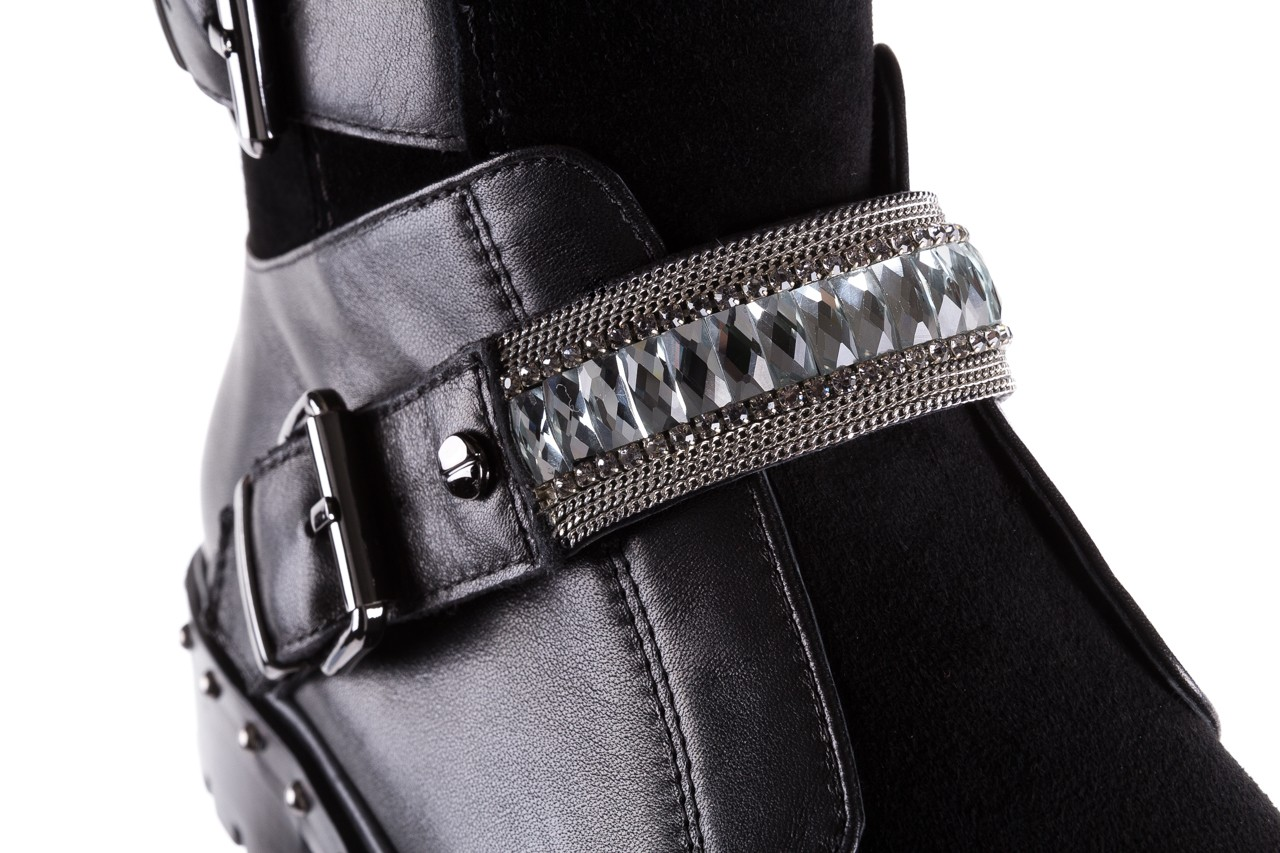 Trzewiki bayla-144 9301 czarne, skóra naturalna - trzewiki - buty damskie - kobieta 18