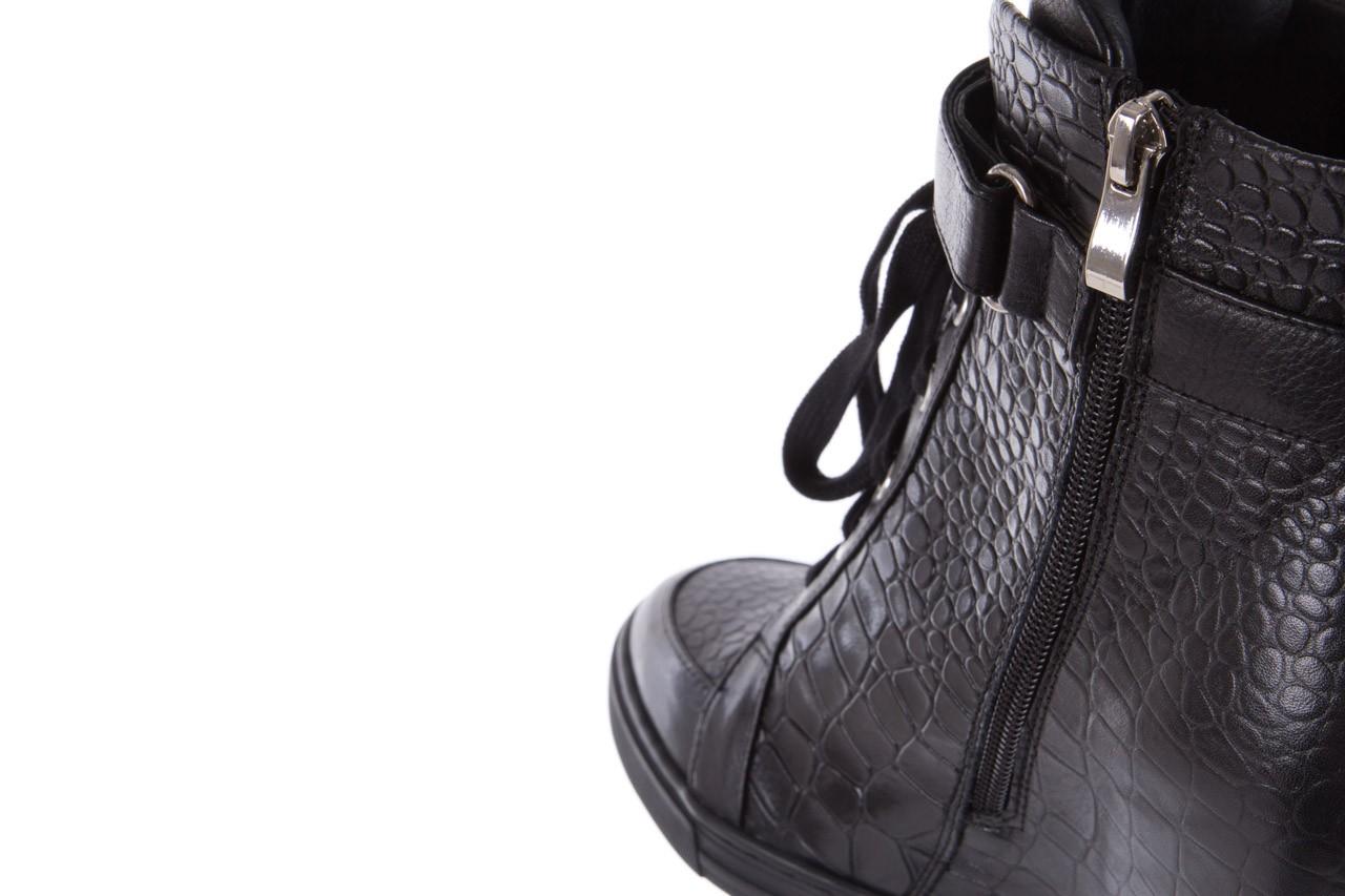 Sneakersy bayla-144 ps508h-16b-1n black, czarny, skóra naturalna  - bayla - nasze marki 15