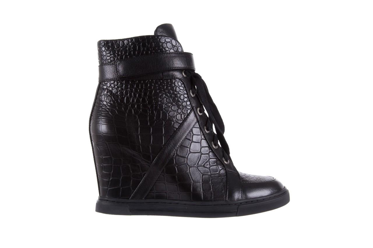 Sneakersy bayla-144 ps508h-16b-1n black, czarny, skóra naturalna  - bayla - nasze marki 8