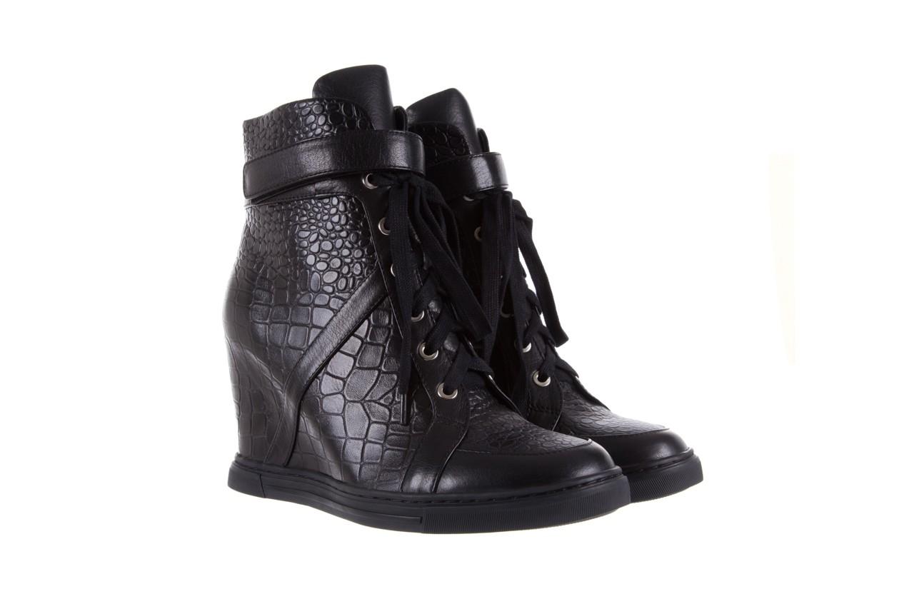 Sneakersy bayla-144 ps508h-16b-1n black, czarny, skóra naturalna  - bayla - nasze marki 9