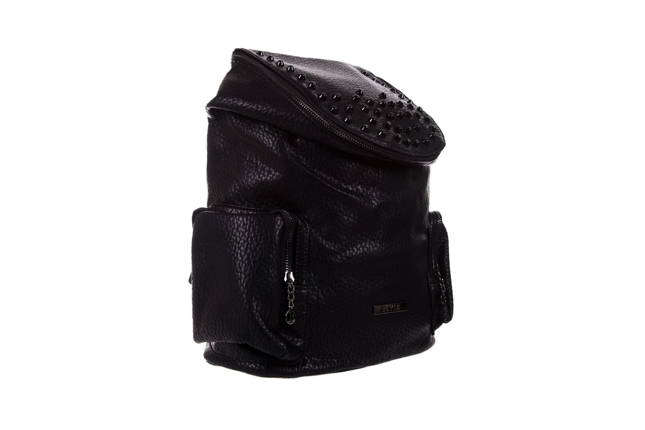Plecak bayla-150 plecak s16-278 black, czarny, skóra ekologiczna  - akcesoria - kobieta 7