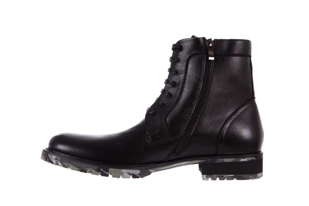 Trzewiki bayla-151 d01a017-52b black, czarny, skóra naturalna  - bayla exclusive - trendy - mężczyzna 8