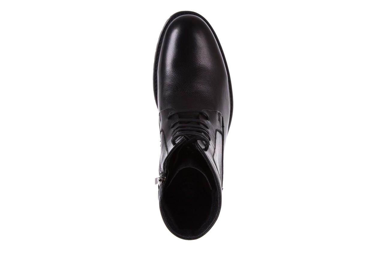 Trzewiki bayla-151 d01a017-52b black, czarny, skóra naturalna  - bayla exclusive - trendy - mężczyzna 10