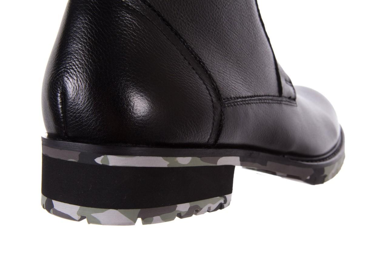 Trzewiki bayla-151 d01a017-52b black, czarny, skóra naturalna  - bayla exclusive - trendy - mężczyzna 11
