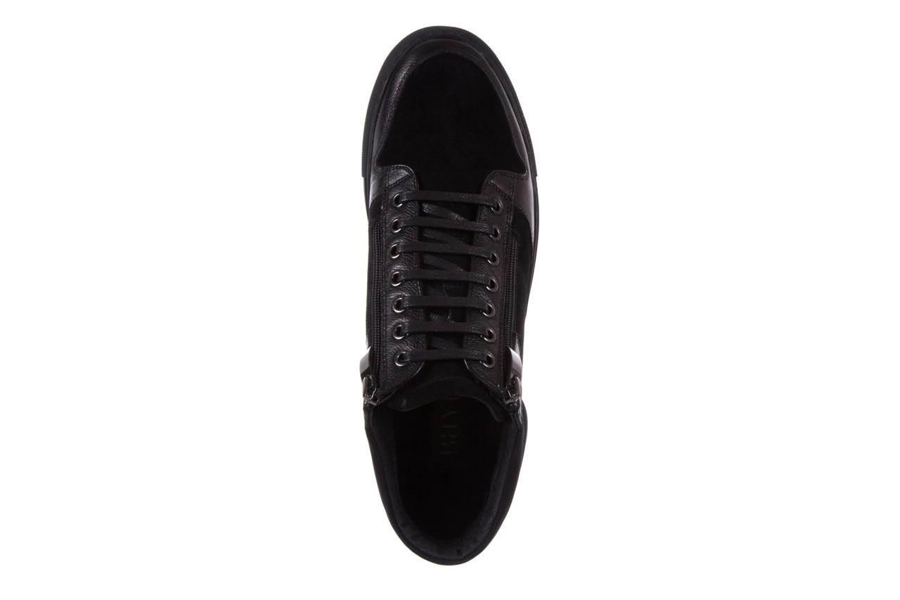 Trampki bayla-151 d151429-50a black, czarny, skóra naturalna  - bayla exclusive - trendy - mężczyzna 10
