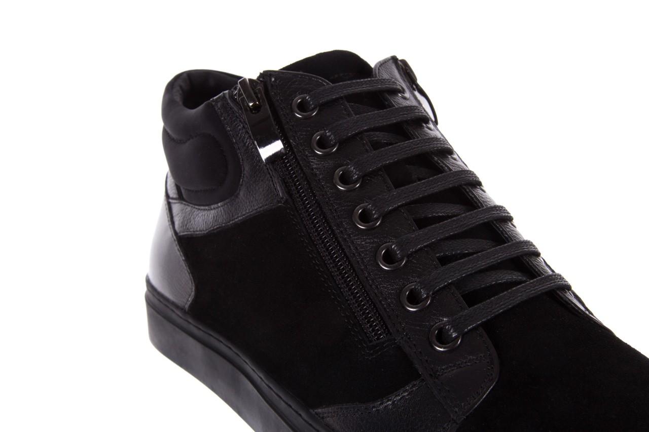 Trampki bayla-151 d151429-50a black, czarny, skóra naturalna  - bayla exclusive - trendy - mężczyzna 11
