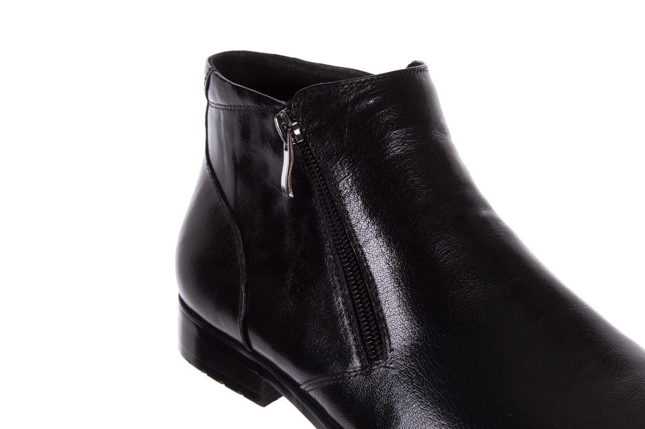 Trzewiki bayla-151 t33yd10-3a black, czarny, skóra naturalna  - wizytowe - trzewiki - buty męskie - mężczyzna 13