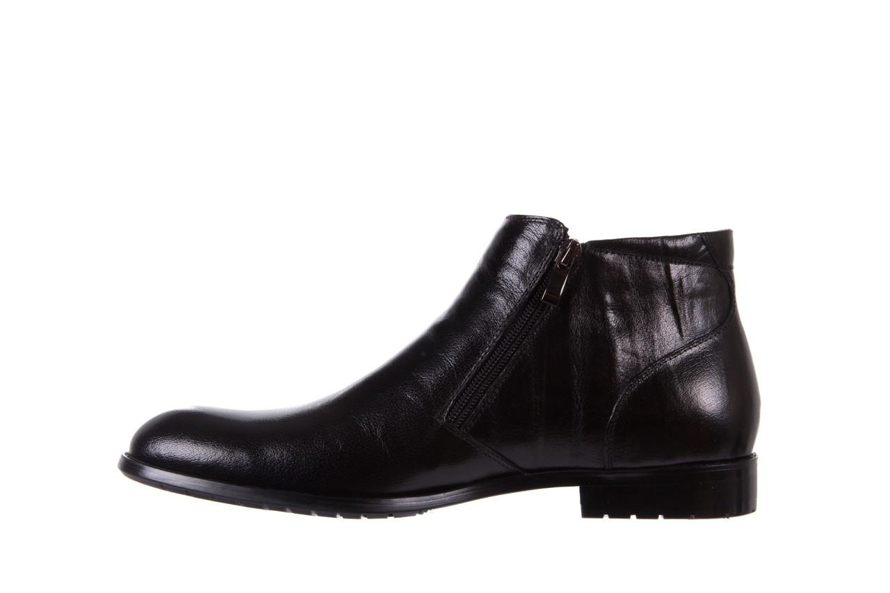 Trzewiki bayla-151 t33yd10-3a black, czarny, skóra naturalna  - wizytowe - trzewiki - buty męskie - mężczyzna 9