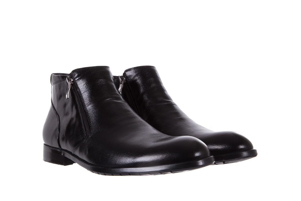 Trzewiki bayla-151 t33yd10-3a black, czarny, skóra naturalna  - wizytowe - trzewiki - buty męskie - mężczyzna 8