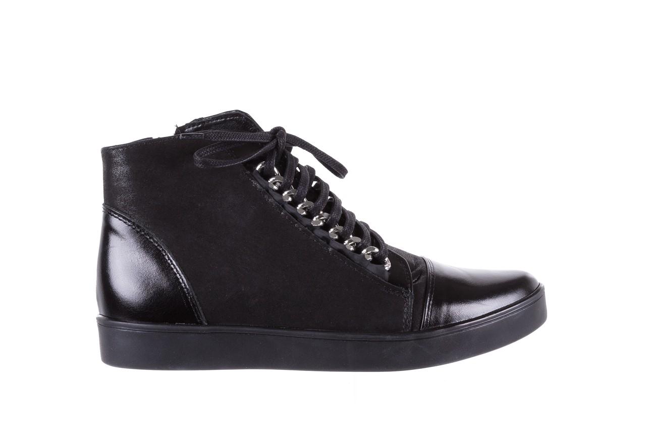 Bayla-154 w-820 czarny - trampki - buty damskie - kobieta 7