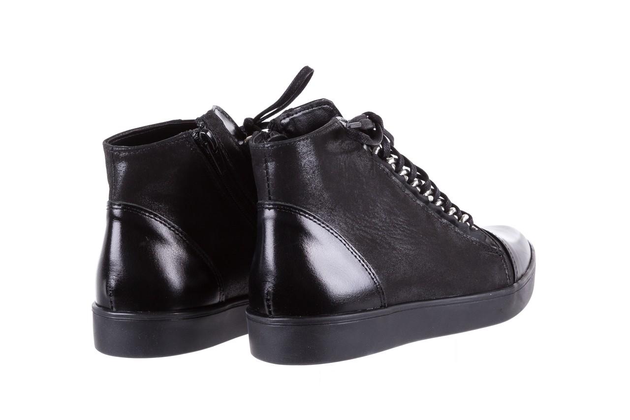 Bayla-154 w-820 czarny - trampki - buty damskie - kobieta 11
