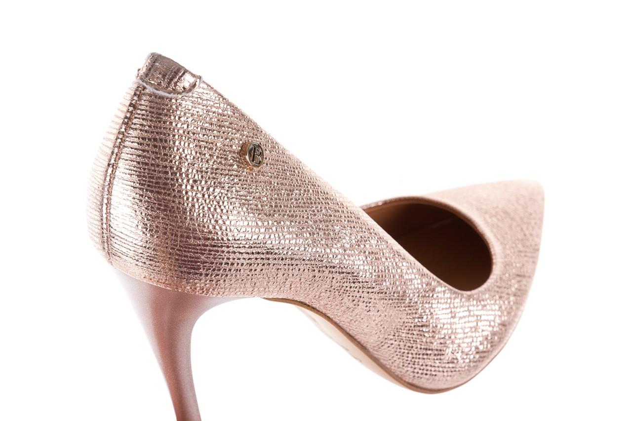 Czółenka bayla-156 2636 różowe złoto, skóra naturalna  - bayla - nasze marki 12
