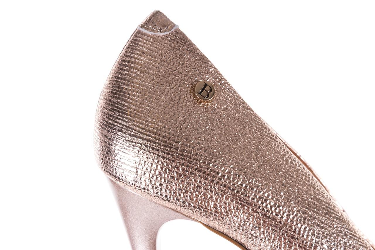 Czółenka bayla-156 2636 różowe złoto, skóra naturalna  - bayla - nasze marki 13