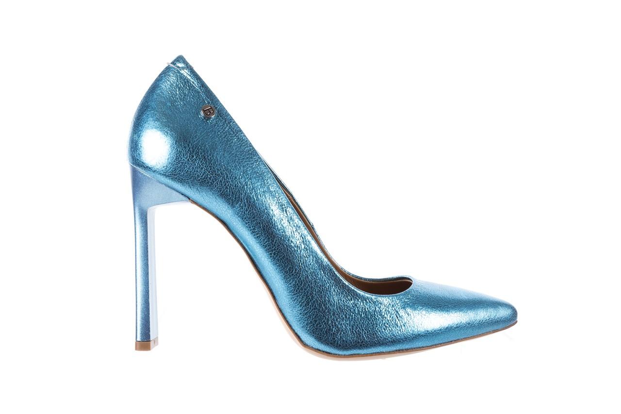 Bayla-156 2730 niebieski metallic, skóra naturalna  - bayla - nasze marki 6
