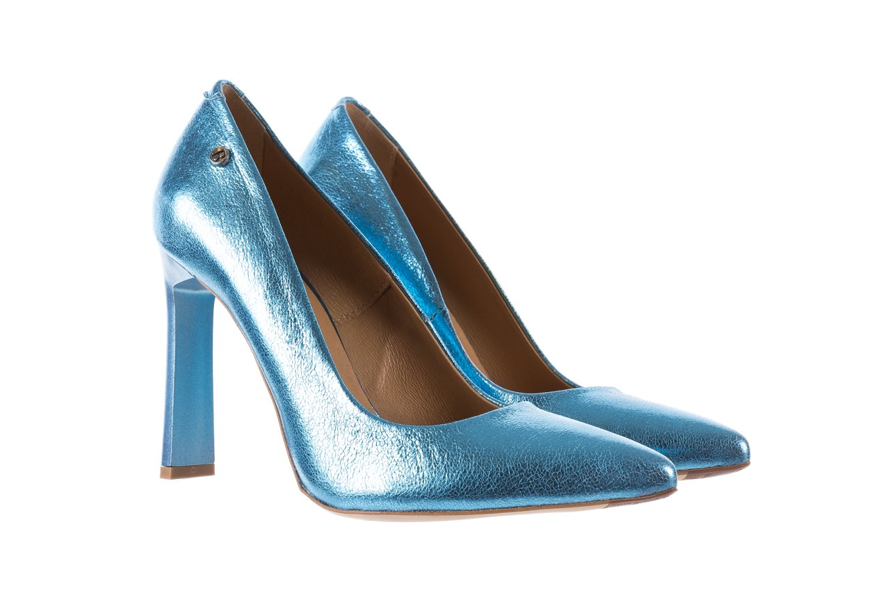 Bayla-156 2730 niebieski metallic, skóra naturalna  - bayla - nasze marki 7