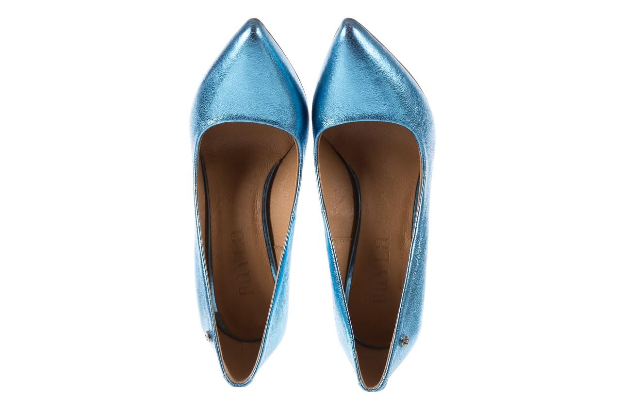 Bayla-156 2730 niebieski metallic, skóra naturalna  - bayla - nasze marki 10