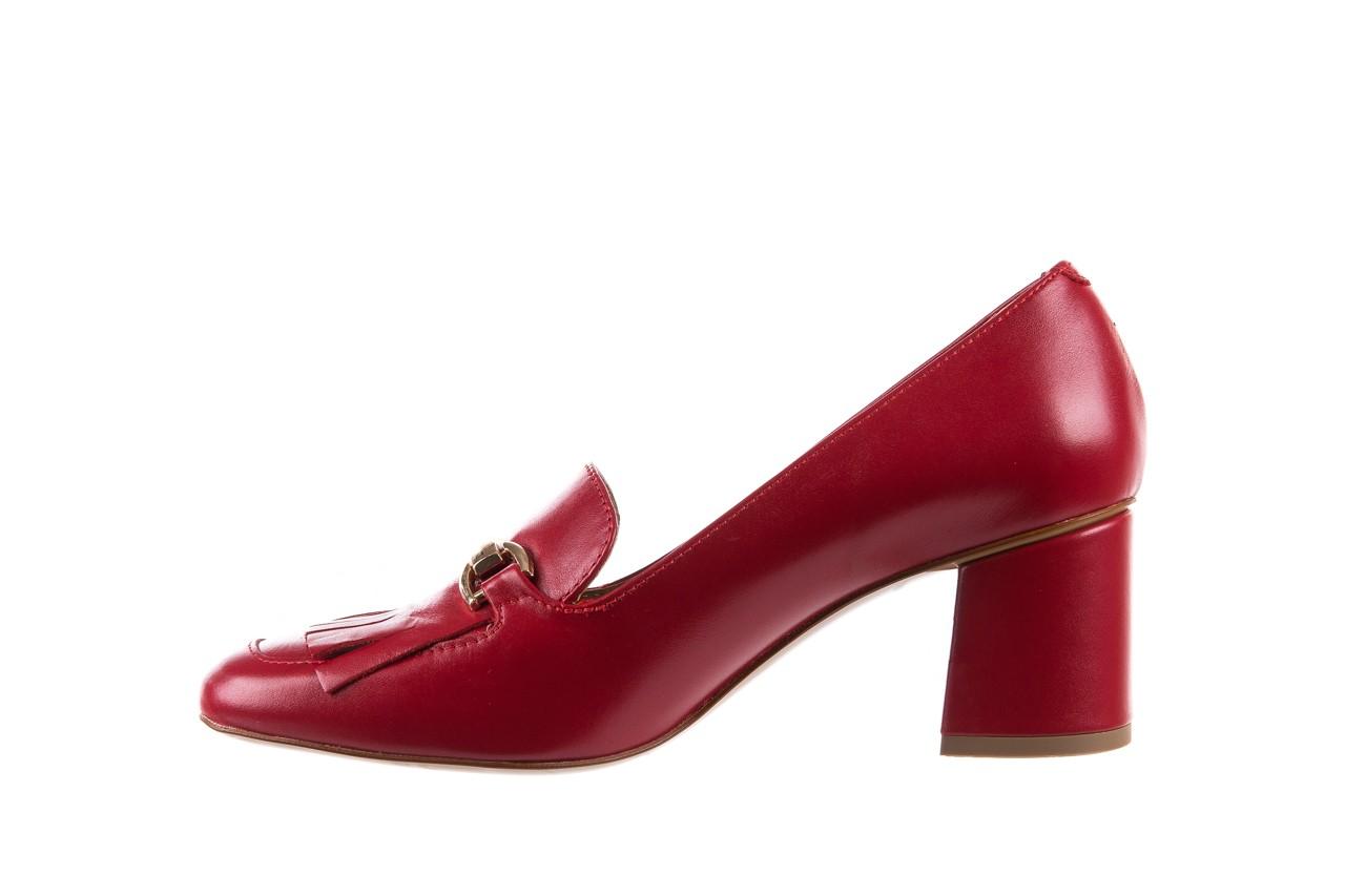 Czółenka bayla-156 3300 czerwone 18, skóra naturalna  - bayla - nasze marki 11