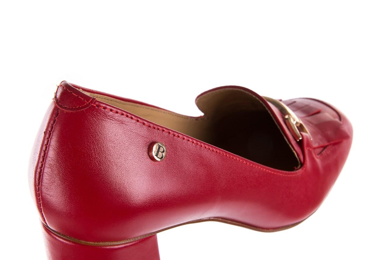 Czółenka bayla-156 3300 czerwone 18, skóra naturalna  - bayla - nasze marki 15
