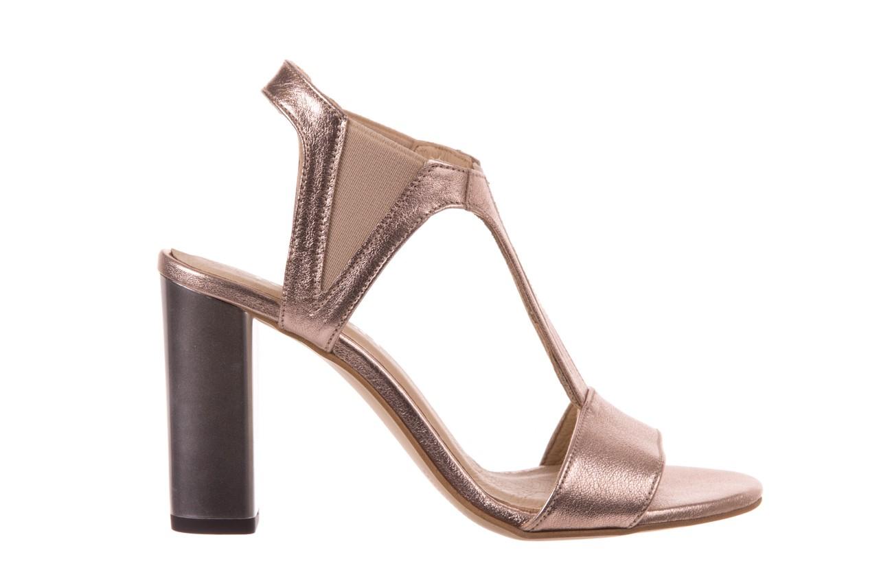 Sandały bayla-157 b005-091-b złoty-róż, skóra naturalna 7