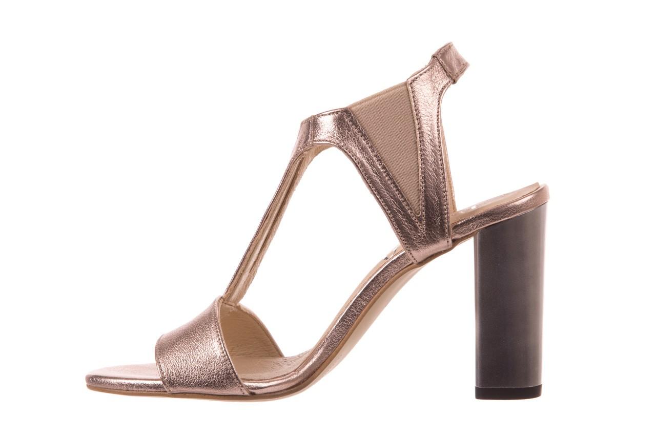 Sandały bayla-157 b005-091-b złoty-róż, skóra naturalna 9