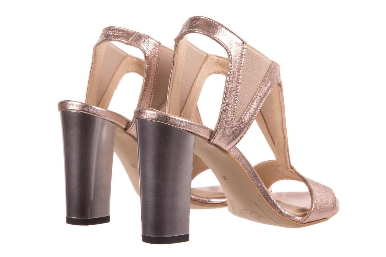 Sandały bayla-157 b005-091-b złoty-róż, skóra naturalna 10