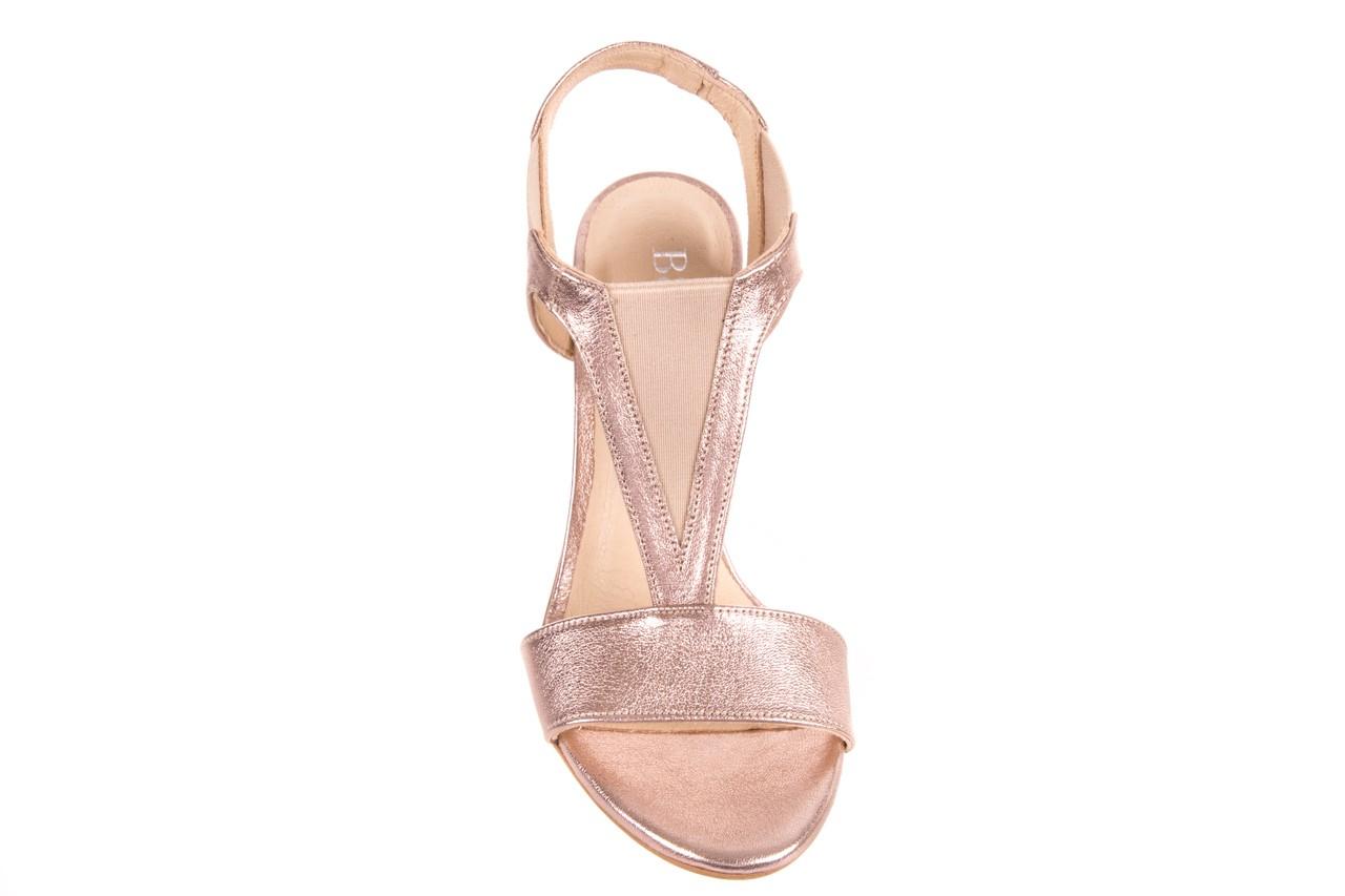Sandały bayla-157 b005-091-b złoty-róż, skóra naturalna 12