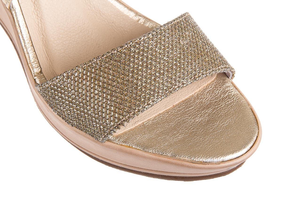 Sandały bayla-157 b007-074-b złoty 157013, skóra naturalna  - bayla - nasze marki 12
