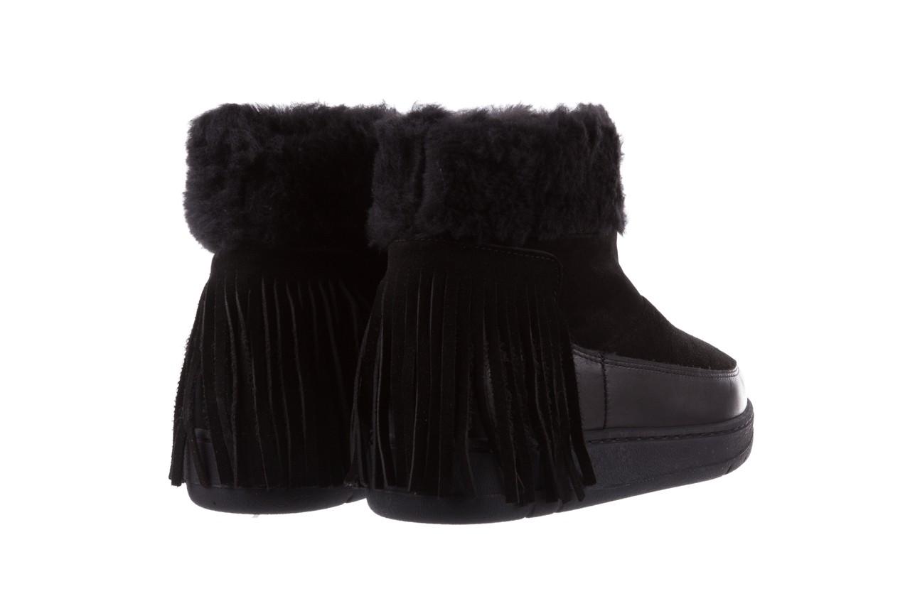 Śniegowce bayla-158 17087 black, czarny, skóra naturalna - bayla - nasze marki 10