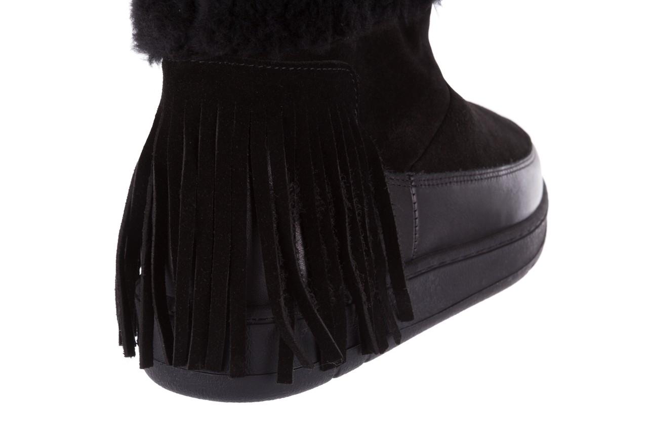 Śniegowce bayla-158 17087 black, czarny, skóra naturalna - bayla - nasze marki 12