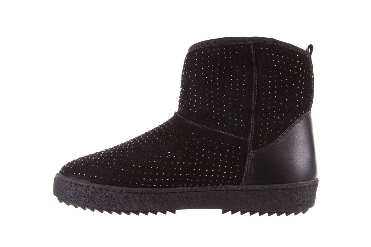 Śniegowce bayla-161 7063 czarne, skóra naturalna zamszowa - skórzane - botki - buty damskie - kobieta 11