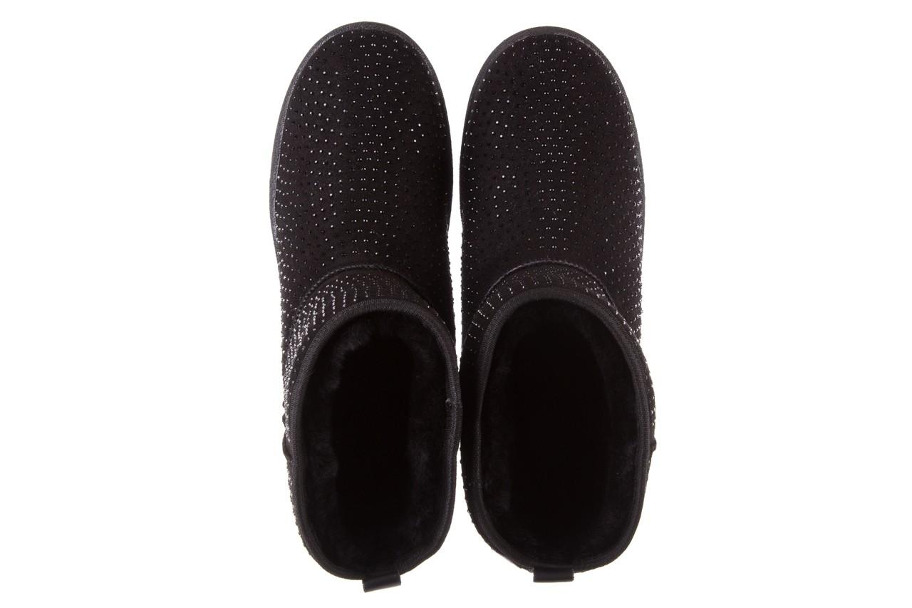 Śniegowce bayla-161 7063 czarne, skóra naturalna zamszowa - skórzane - botki - buty damskie - kobieta 13
