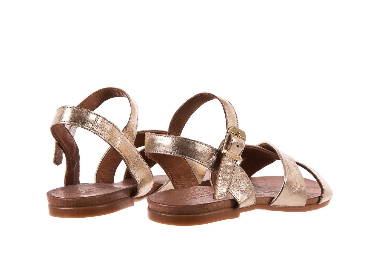 Sandały bayla-163 17-116 gold, złoty, skóra naturalna  - bayla - nasze marki 9
