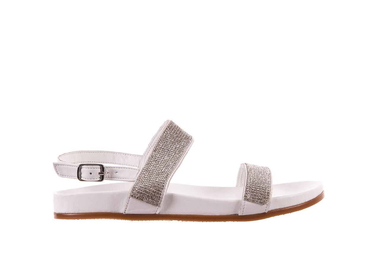 Sandały bayla-163 17-302 riga, biały, skóra naturalna  - sandały - letnie hity cenowe 6