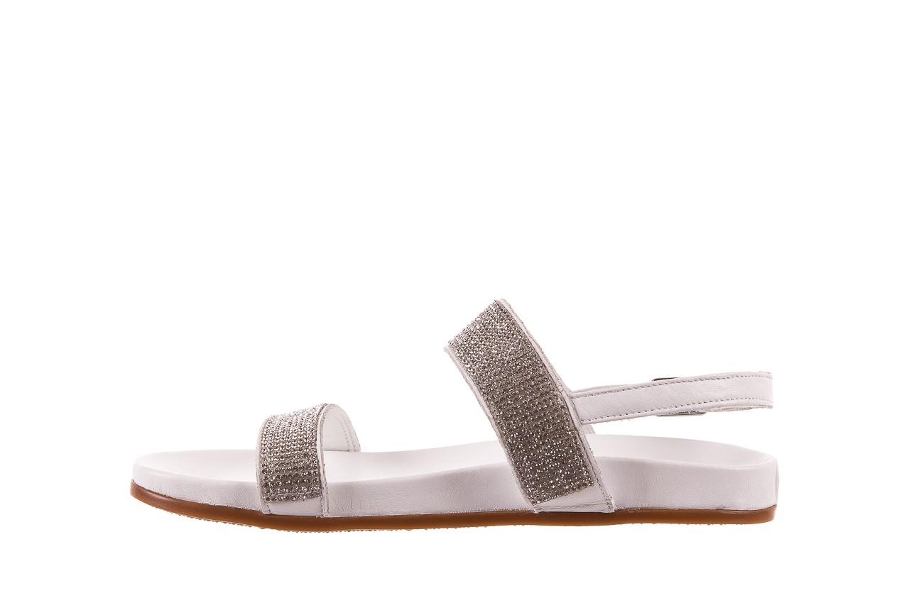 Sandały bayla-163 17-302 riga, biały, skóra naturalna  - sandały - letnie hity cenowe 8