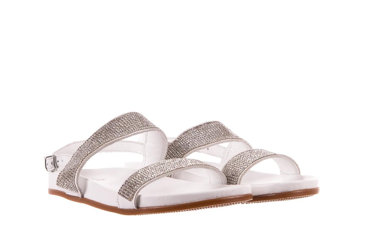 Sandały bayla-163 17-302 riga, biały, skóra naturalna  - sandały - letnie hity cenowe 7