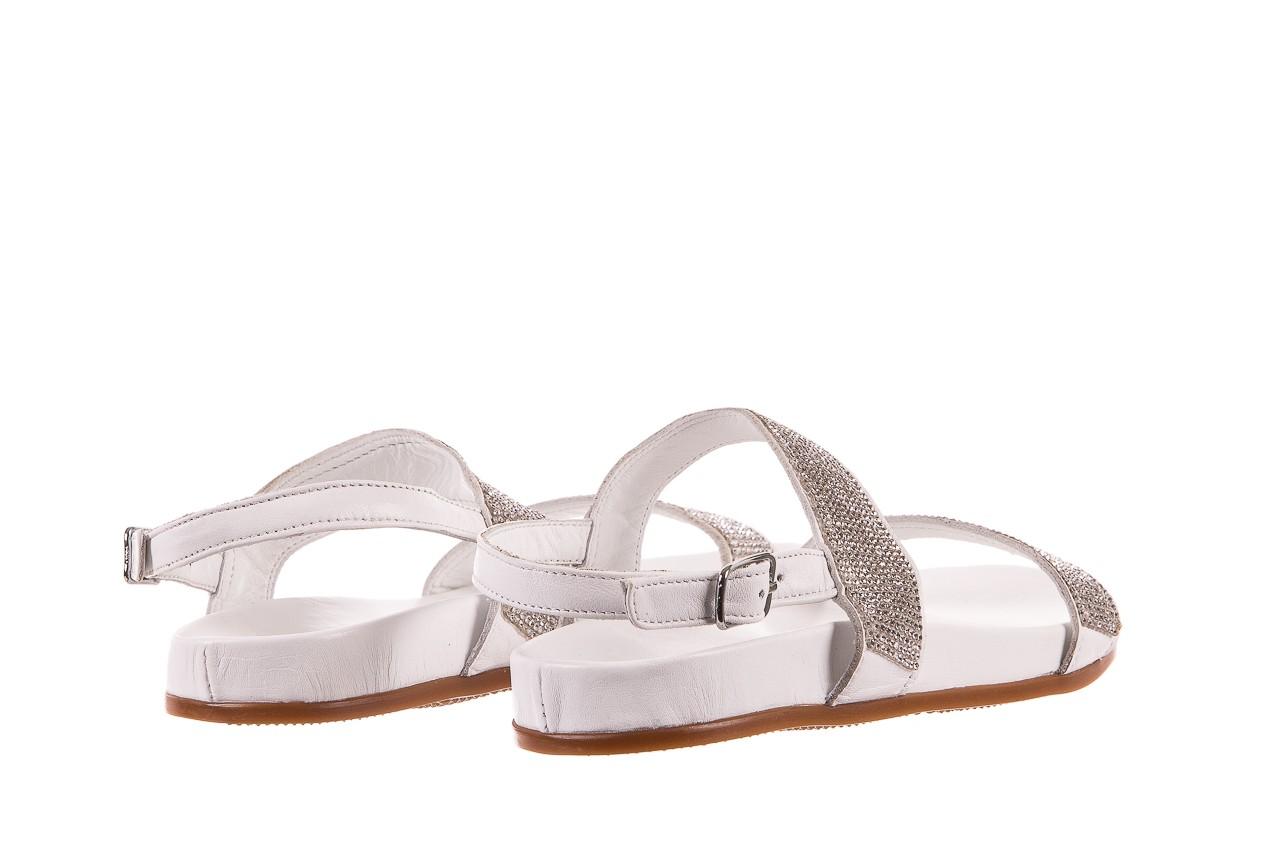 Sandały bayla-163 17-302 riga, biały, skóra naturalna  - sandały - letnie hity cenowe 9