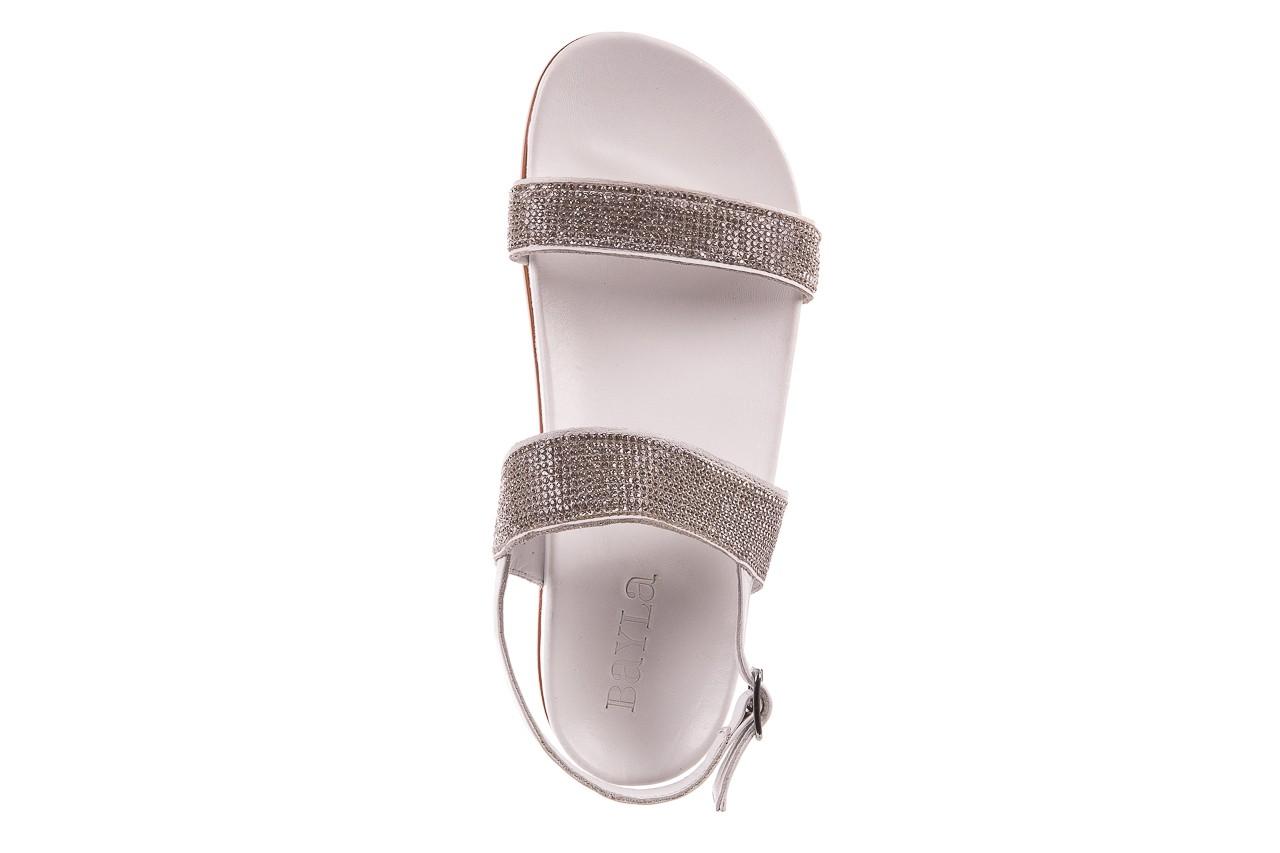 Sandały bayla-163 17-302 riga, biały, skóra naturalna  - sandały - letnie hity cenowe 10
