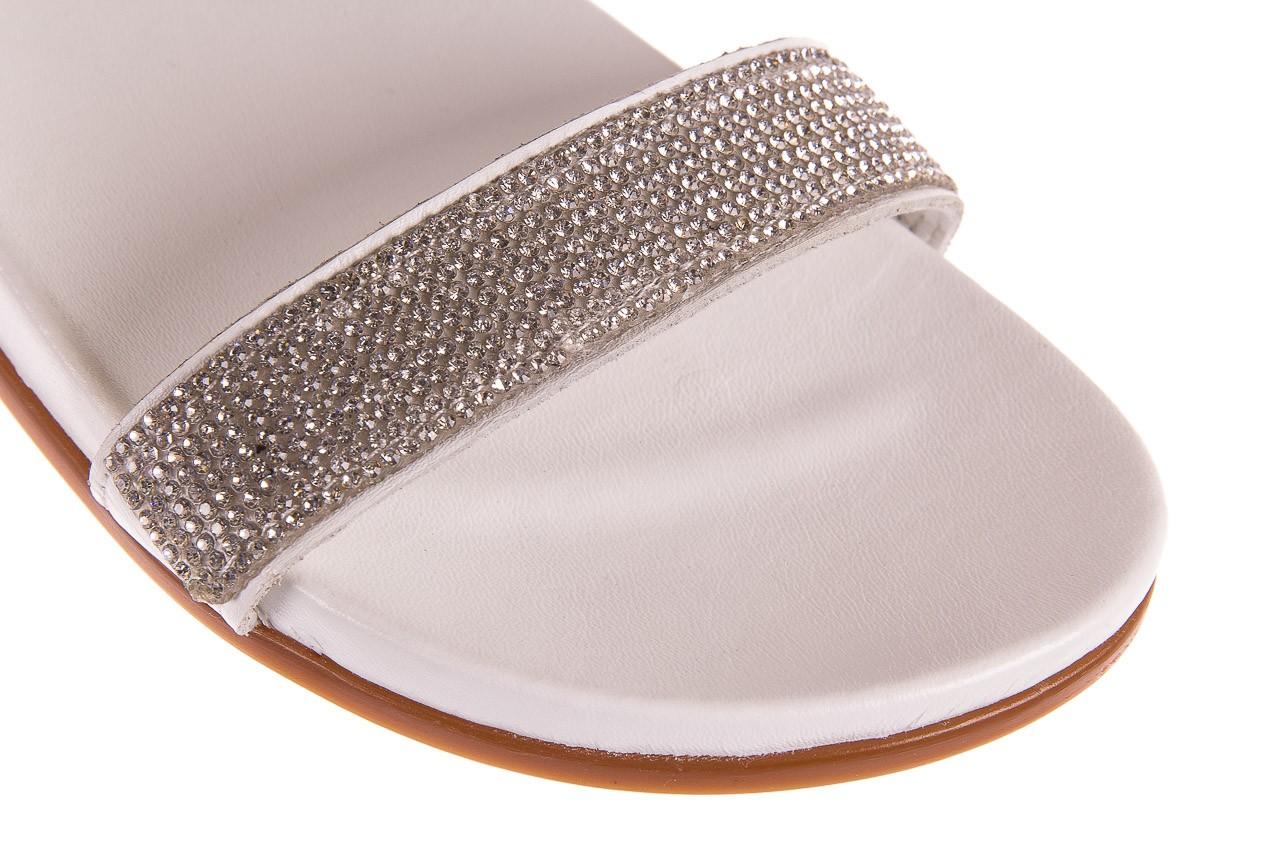 Sandały bayla-163 17-302 riga, biały, skóra naturalna  - sandały - letnie hity cenowe 11