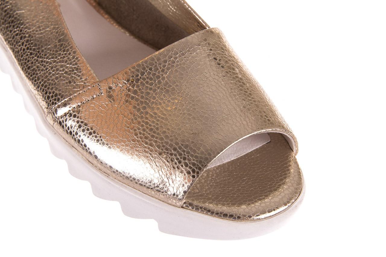 Sandały bayla-163 319-310 386 gold, złoty, skóra naturalna  - bayla - nasze marki 11