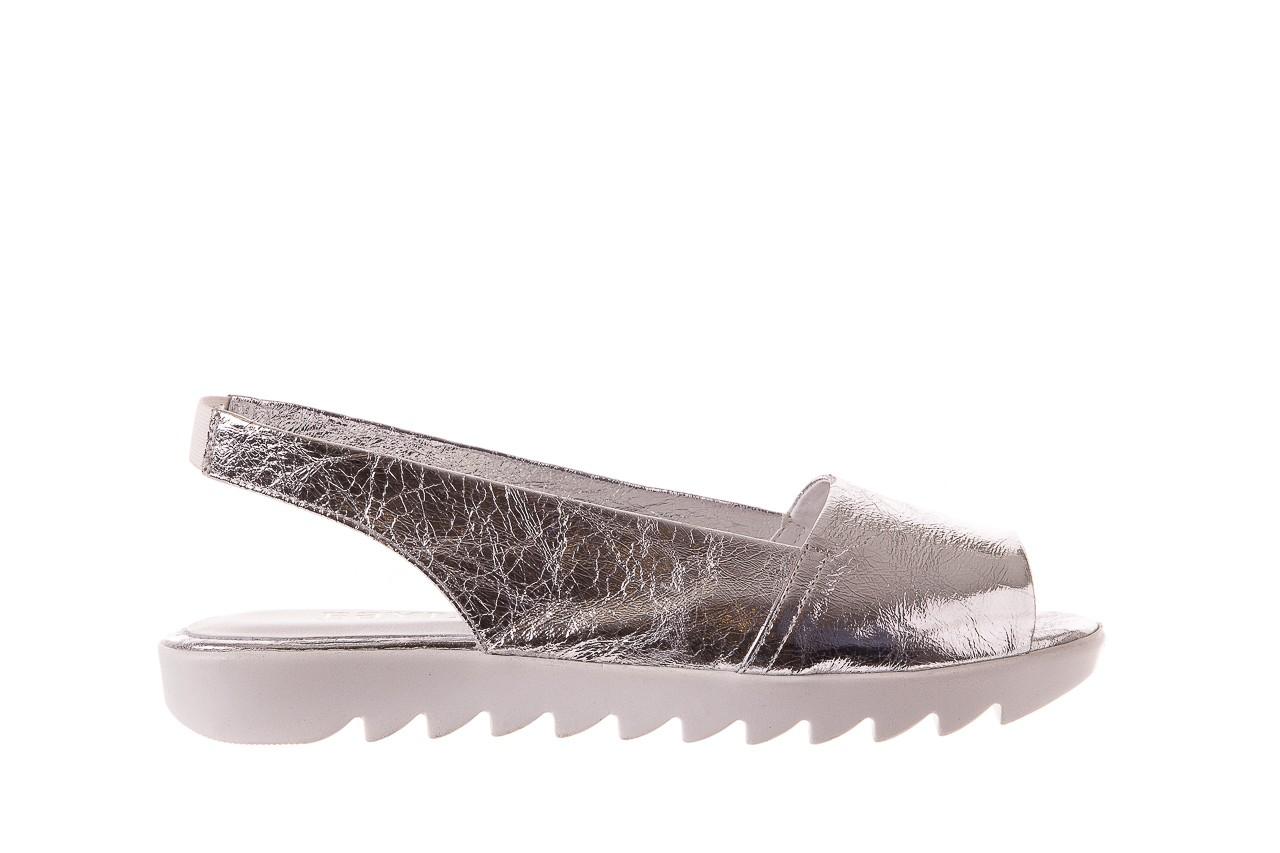 Sandały bayla-163 319-310 614 silver, srebrny, skóra naturalna  - sandały - dla niej - dodatkowe -10% 6