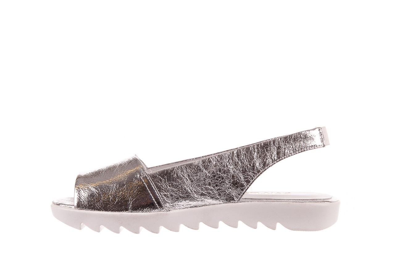 Sandały bayla-163 319-310 614 silver, srebrny, skóra naturalna  - sandały - dla niej - dodatkowe -10% 8