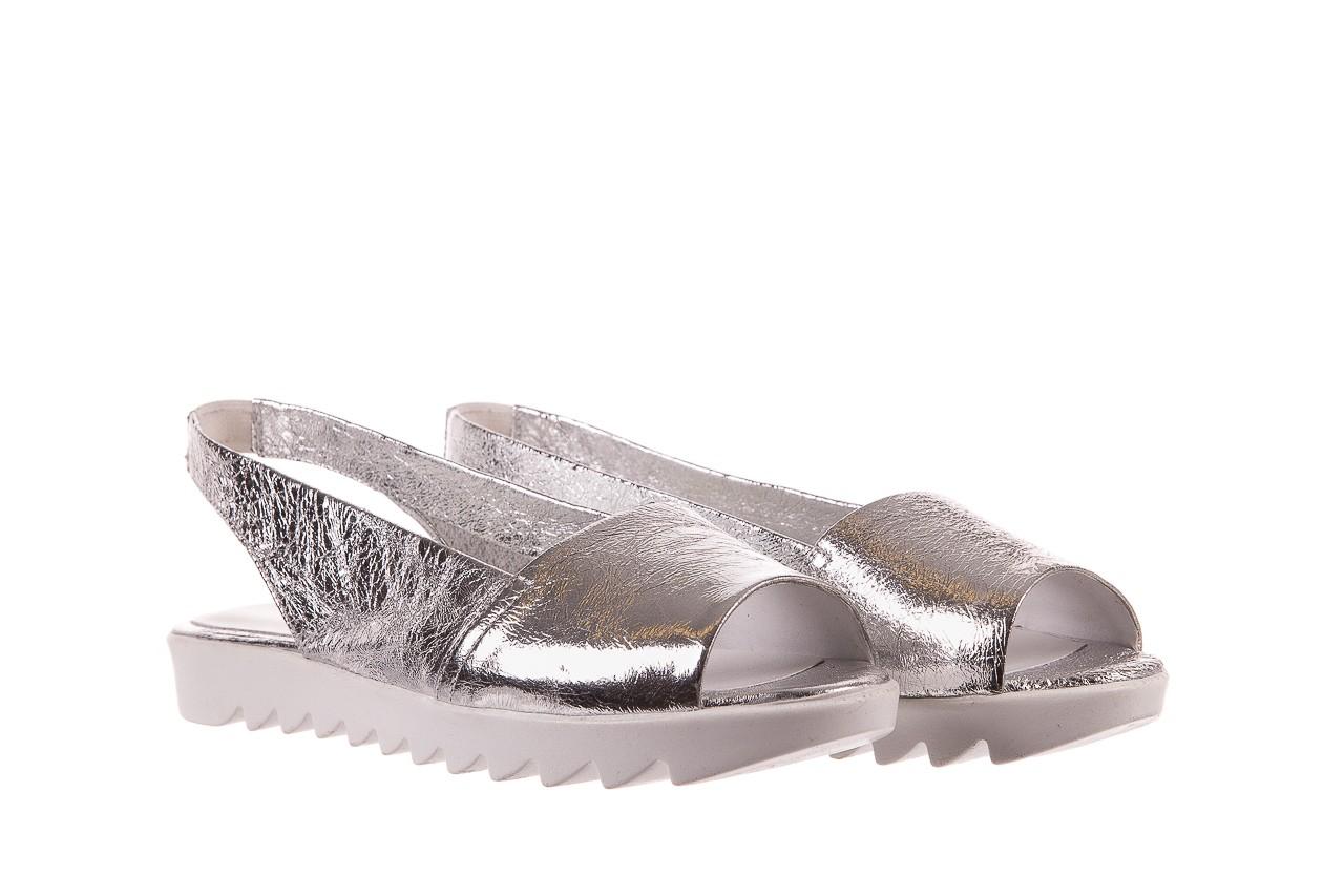 Sandały bayla-163 319-310 614 silver, srebrny, skóra naturalna  - sandały - dla niej - dodatkowe -10% 7