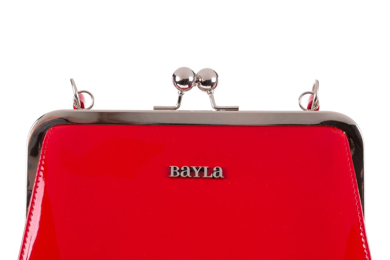 Torebka bayla-165 torebka gaja czerwona, skóra naturalna  - bayla - nasze marki 11