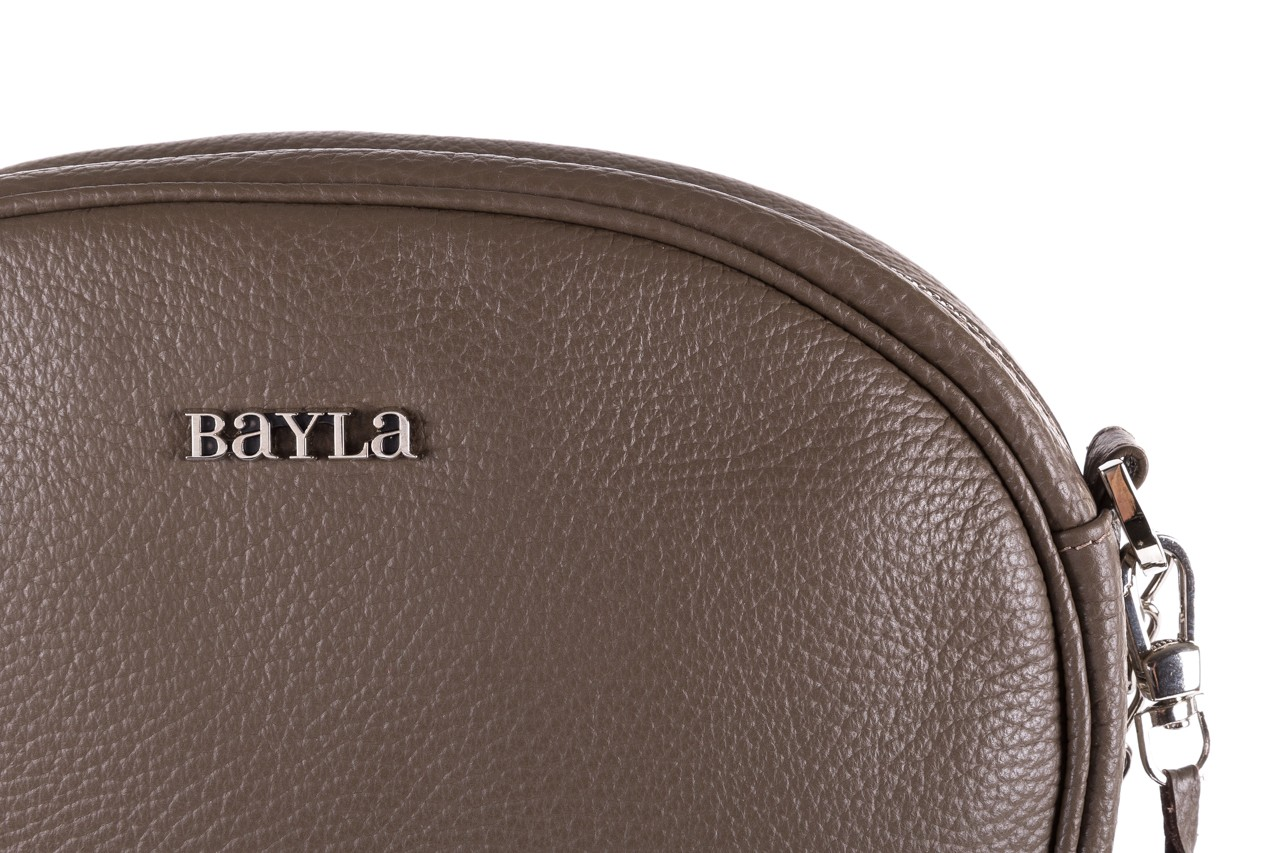 Torebka bayla-165 torebka skórzana vicky khaki, skóra naturalna  - bayla - nasze marki 8